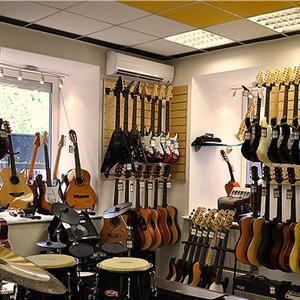 Музыкальные магазины Добрянки